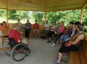 Grup de suport pentru parintii copiilor cu dizabilitati