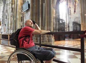 In catedrala Sfantul Stefan din Viena la exact 20 de ani de la plonjonul intr-o noua viata