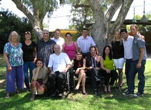 Absolvind cursurile de Hipnoza Ericksoniana in Phoenix Arizona