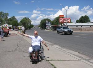 Autostop pe Route 66